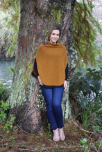 Load image into Gallery viewer, Possum Merino Verge Poncho - Zinity Knitwear