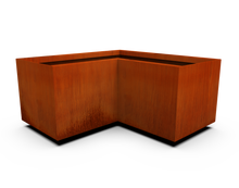 Load image into Gallery viewer, Corten Steel Corner Planter