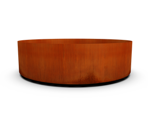 "Corten Steel Round Planter (42"" - 48"" Diameter)"