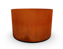 "Load image into Gallery viewer, 36"" Diameter Corten Steel Round Planter"