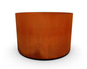 "36"" Diameter Corten Steel Round Planter"