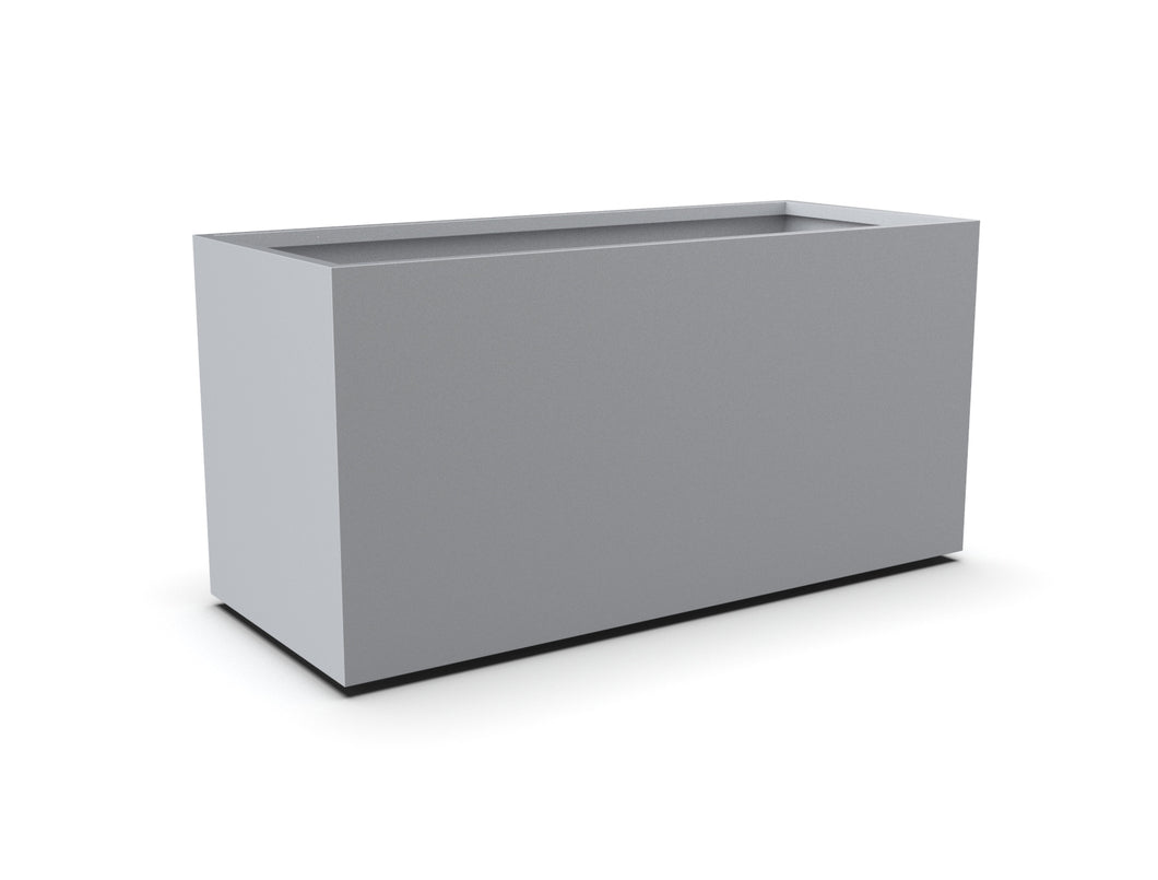 Aluminum Rectangular Planter (12