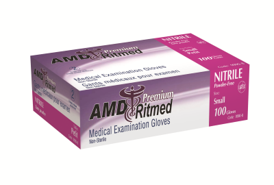 AMD Nitrile Powder Free Gloves