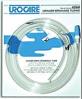 UroCare Sterile Clear-Vinyl Extension Tubing with Adaptor and Cap