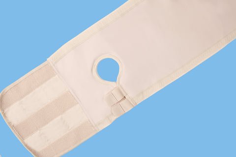 Fulcionel 'Adjustable Hole' Hernia Support Belts AR (Anti-Roll)