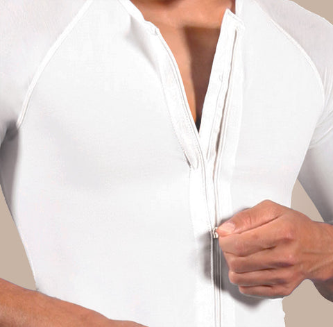 Design Veronique Male Zip Compression Vest w/Arms, 642