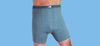 Ostomy High-Waisted Cotton Short-Leg Fitted Trunk (Mens)