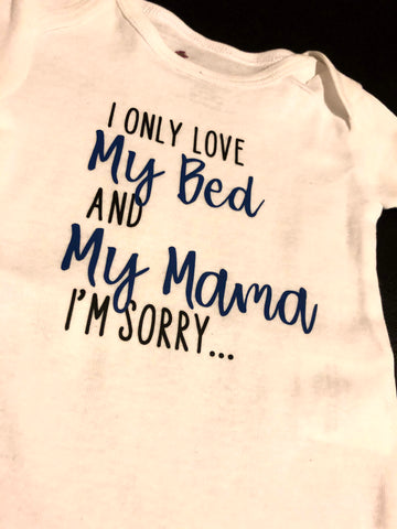 I'm Sorry - Onesie - Multiple color options