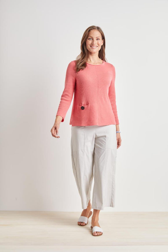 HABITAT COASTAL COTTON PAPAYA PULLOVER 83127ID