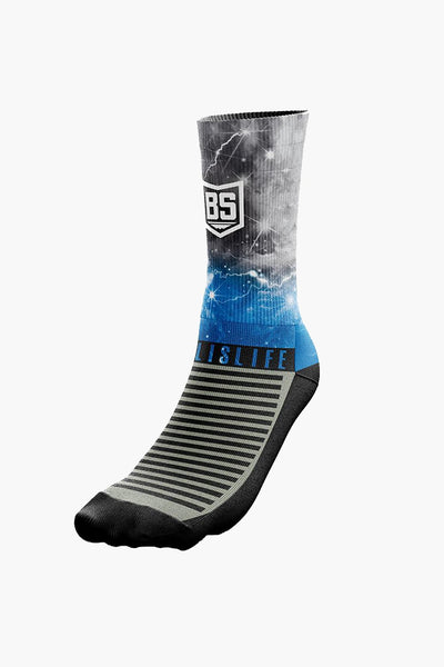 BucketSquad Thunder Socks