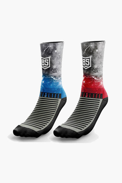 BucketSquad Thunder Sock Bundle (2-Pack)