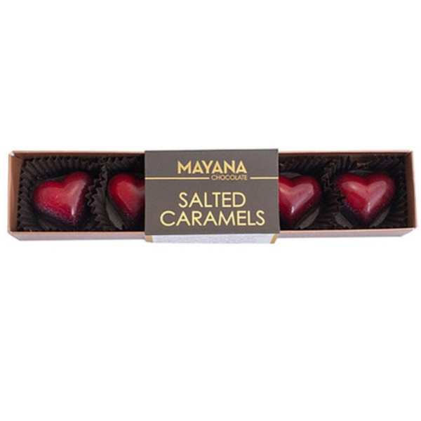 Mayana Heart Shaped Salted Caramels