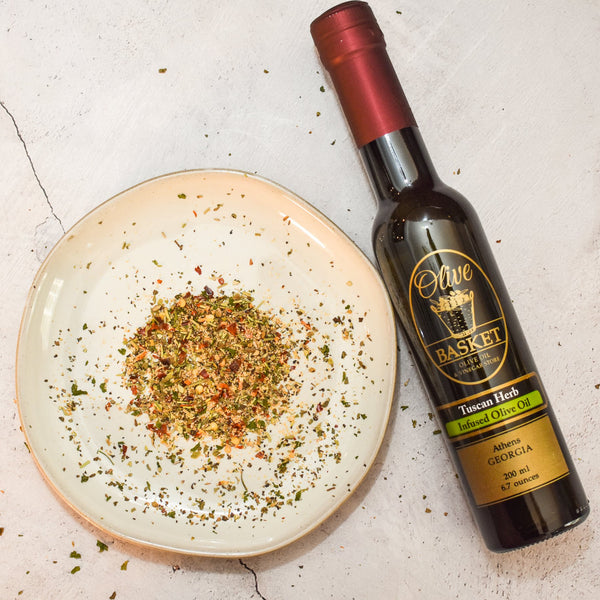 Tuscan Herb Infused Olive Oil