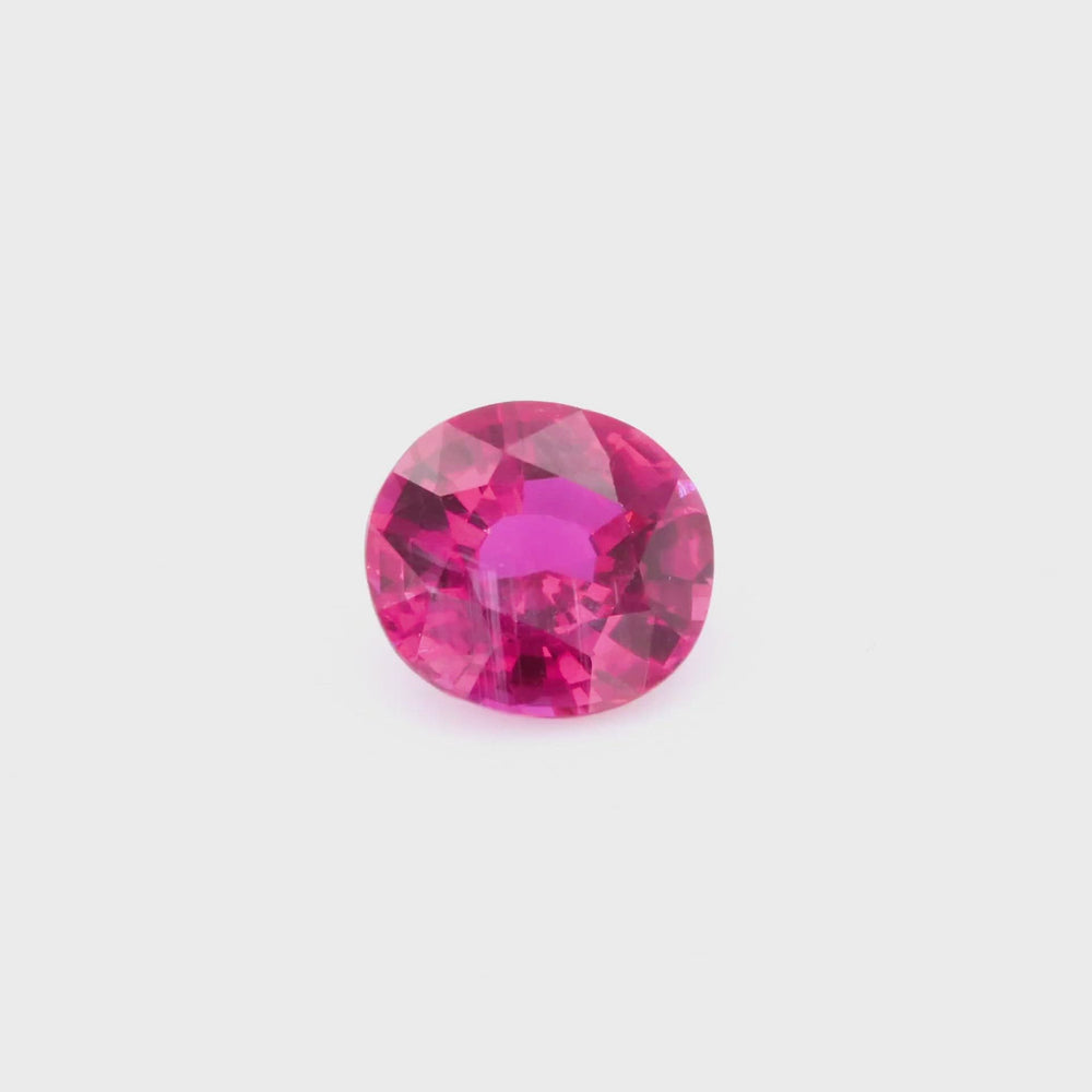 Load and play video in Gallery viewer, Natural Madagascar Ruby 3.53ct With GIA Report