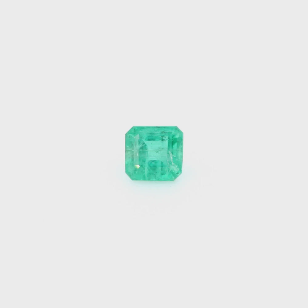 Load and play video in Gallery viewer, Natural Emerald Octagonal Shape 2.36ct With GIA Report