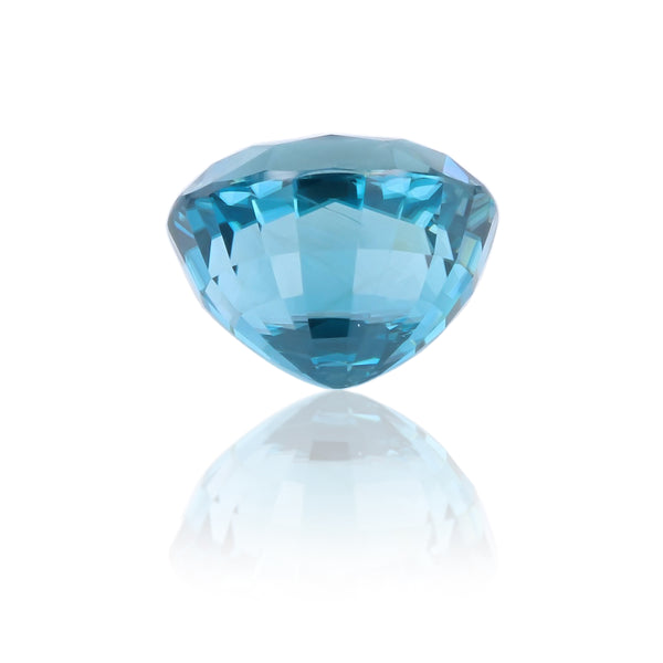 Natural Blue Zircon Oval Shape 17.33 Carats