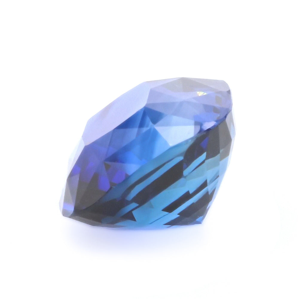 Natural Heated Blue Sapphire Cushion Shape 6.74ct With GIA Report