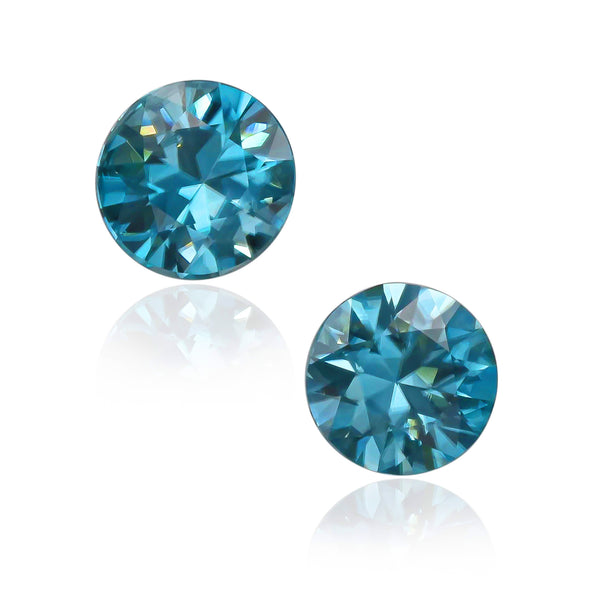 Natural Blue Zircon 5.58 Carats