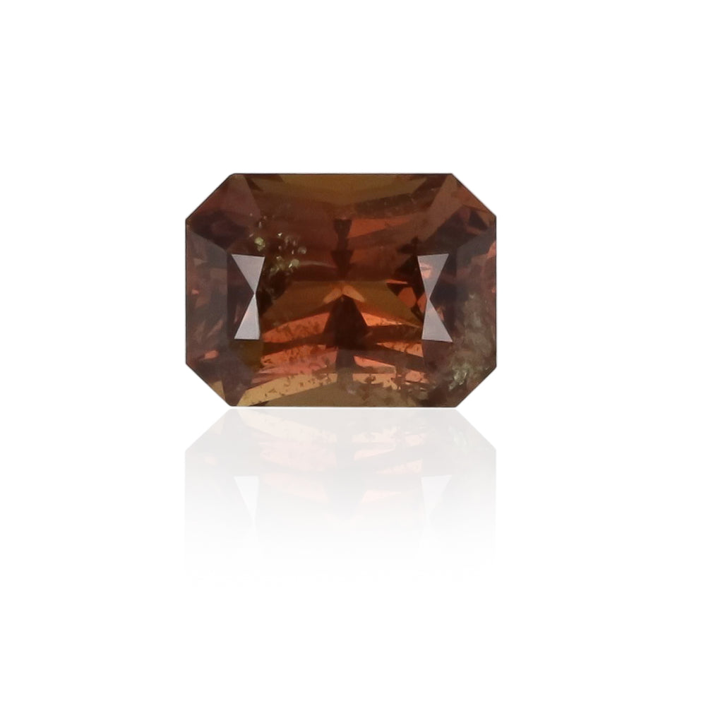 Natural East African Brown Orange Sapphire 2.26 Carats