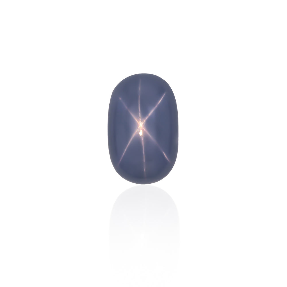 Natural Unheated Blue Star Sapphire 16.92 Carats With GIA Report