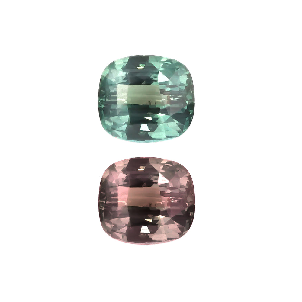 Natural Alexandrite Bluish Green Changing to Purple Color 2.54 Carats With GIA Report