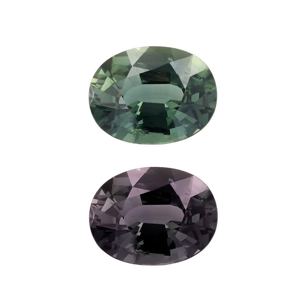 Natural Unheated Color Change Sapphire 4.76 Carats With GIA Report