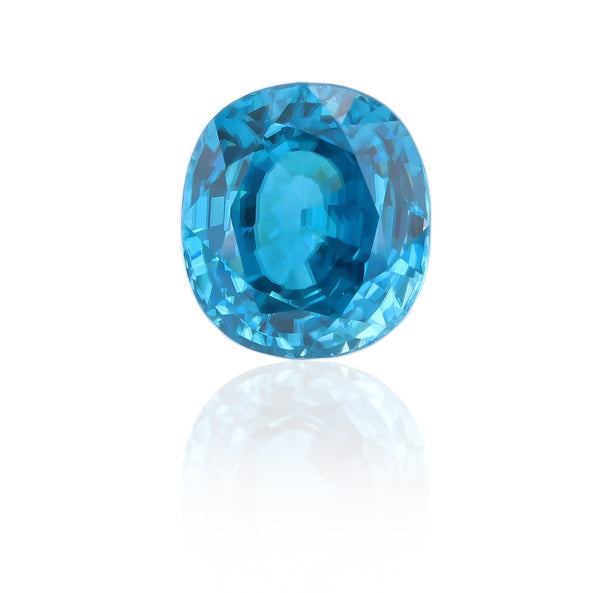 Natural Blue Zircon Oval Shape 17.20 Carats