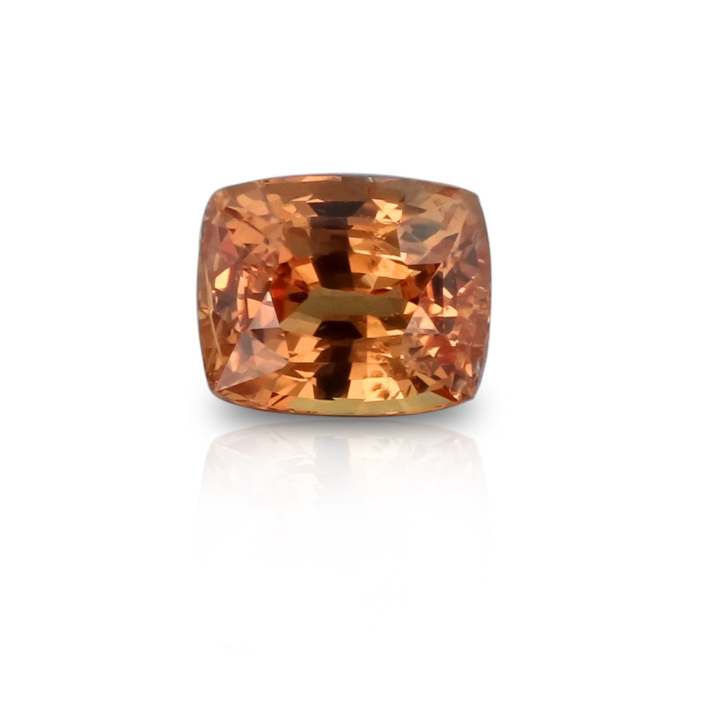 Natural Unheated Orange Sapphire 2.43 Carats With GIA Report