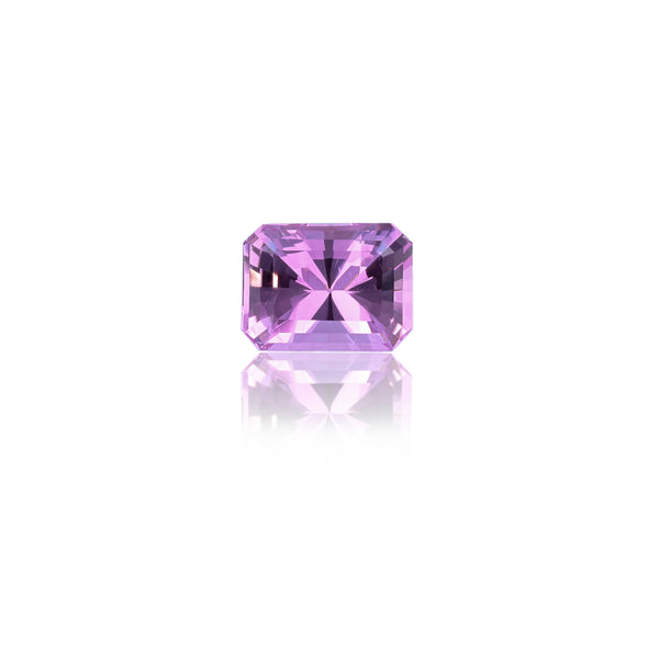 Natural Unheated Purplish Pink Topaz Octagonal Shape 6.19 Carats With GIA Report