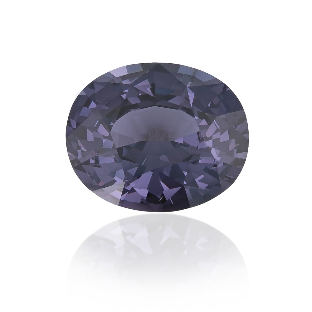 Natural Unheated Purple Spinel 7.75 Carats With GIA Report