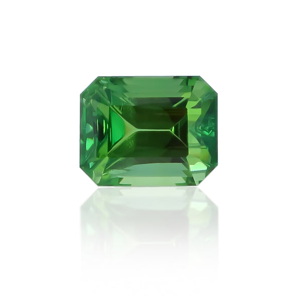 Natural Unheated Green Zoisite 1.73 Carats With AGL Report