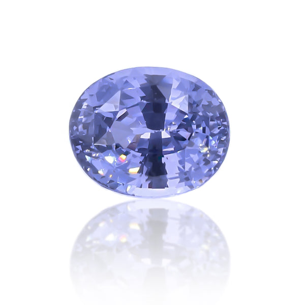 Natural Unheated Violet Blue Spinel Oval Shape 3.78ct