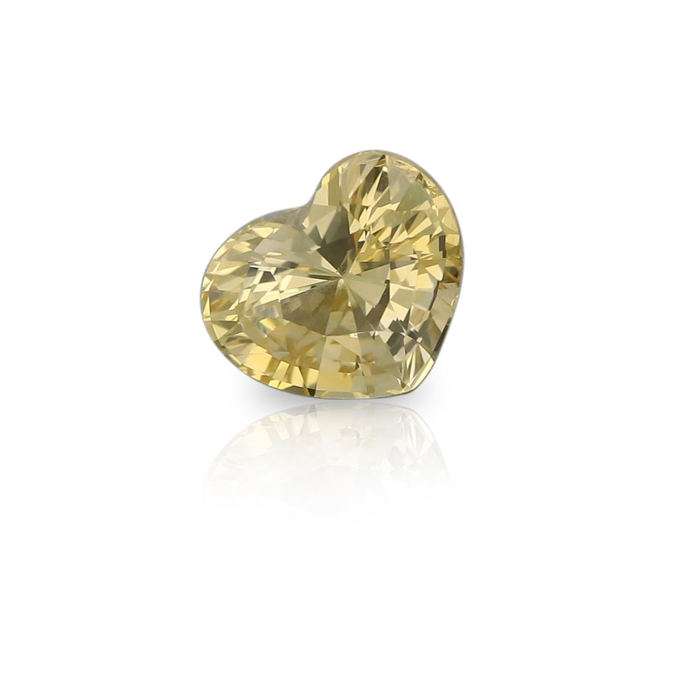 Natural Yellow Sapphire 2.08 Carats With GIA Report