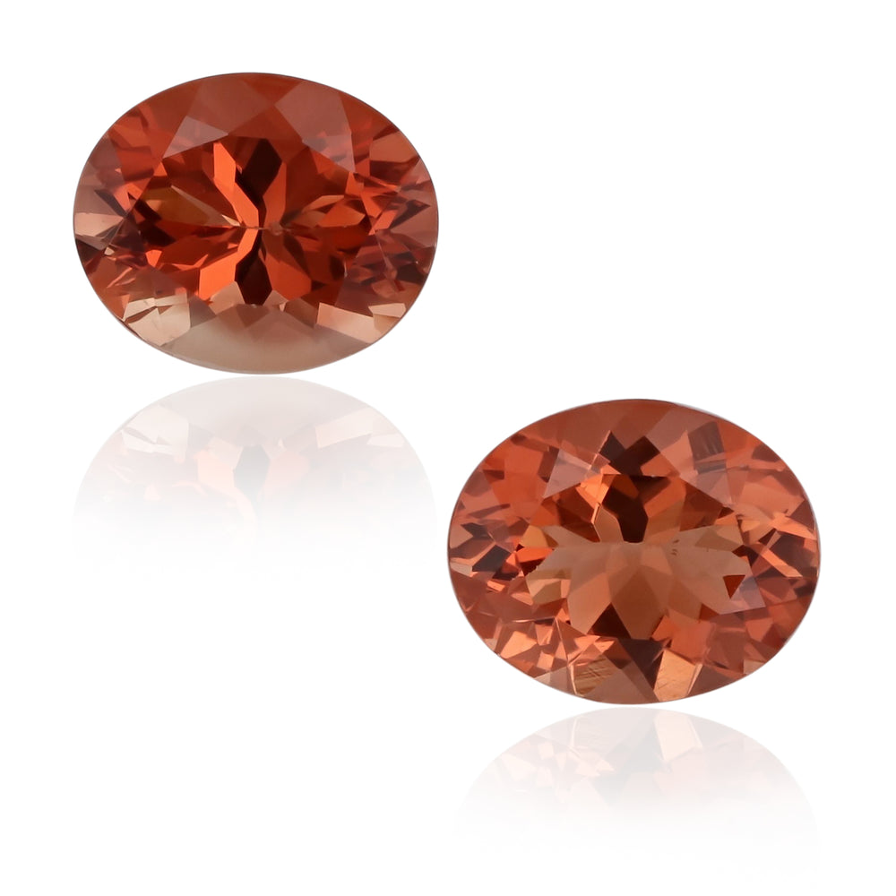 Natural Oregon Sunstone Pair 6.50 Total Carats