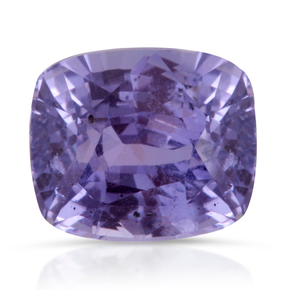 Natural Unheated Pinkish Purple Sapphire 2.58ct With GIA Report