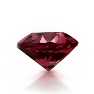 Natural Pink Zircon Round Shape 3.42ct