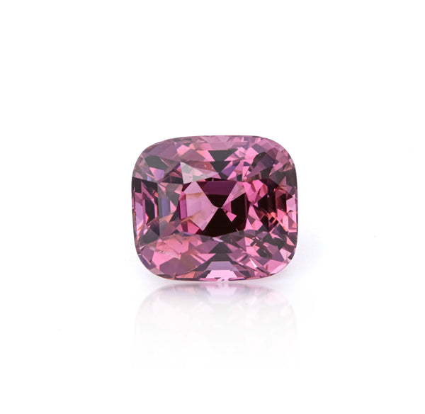 Natural Unheated Purple-Pink Spinel Cushion Shape 8.48ct With GIA Report