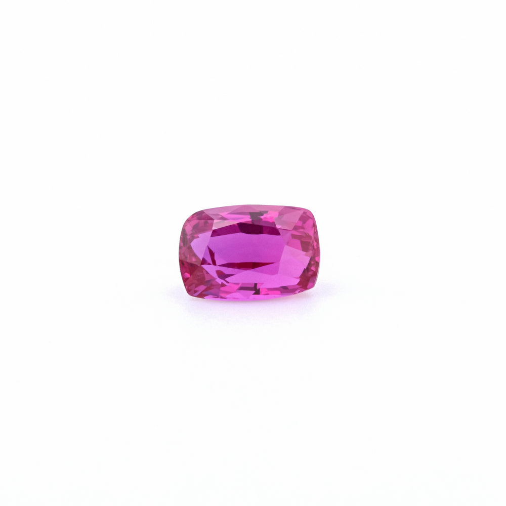 Natural Madagascar Ruby Purplish Red Emerald Shape 2.01 Carats