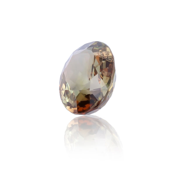 Natural Rare Unheated Andalusite Oval Shape 3.24 Carats