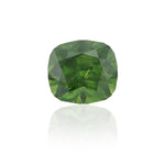 Natural Unheated Demantoid Cushion Shape 3.46 Carats With GIA Report