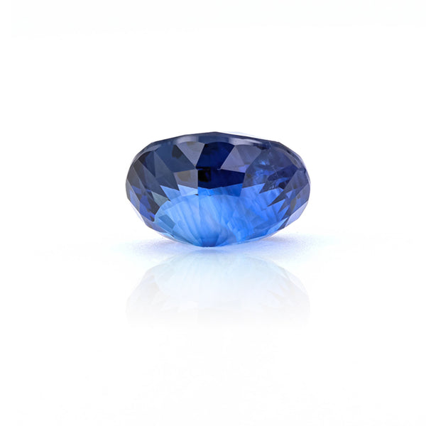 Natural Heated Blue Sapphire Oval Shape 4.45 Carats With Gia Report