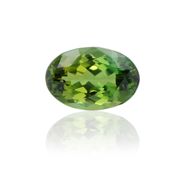 Natural Unheated Green Zoisite 4.76 Carats With AGL Report