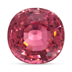 Natural Unheated Pink Tourmaline Cushion Shape 77.99ct With GIA Report