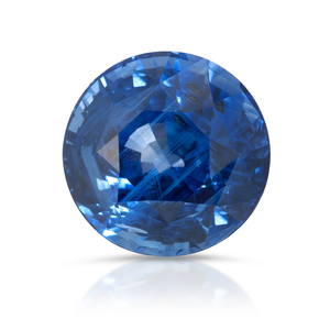 Pantone's Color of 2020: Classic Blue. Blue Sapphire 5.04ct With GIA Report(Heated)