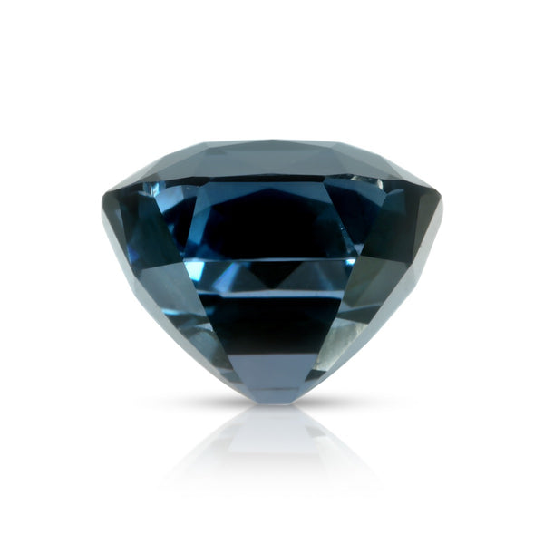 Natural Unheated Blue Spinel Cushion Shape 4.18ct With GIA Report