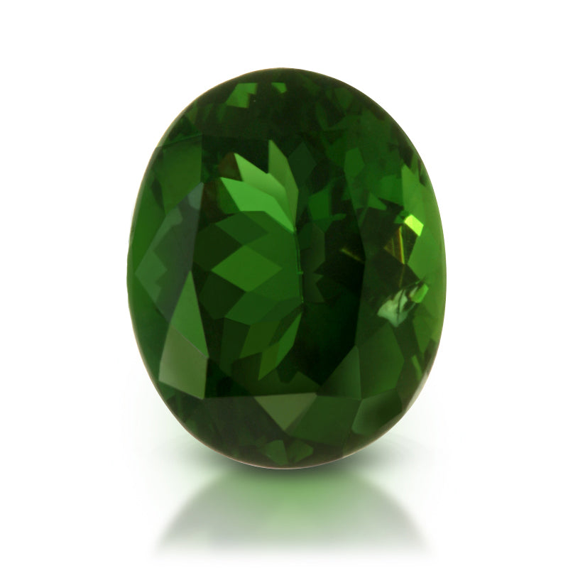 Heart of the Forest. Chrome Tourmaline Gemstone 4.15ct