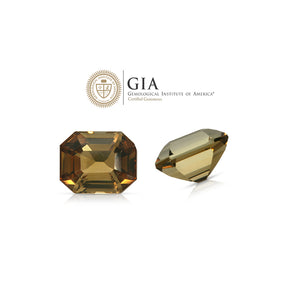 Meet a mysterious beauty. Andalusite 8.19ct With GIA Report (Rare Gemstone)