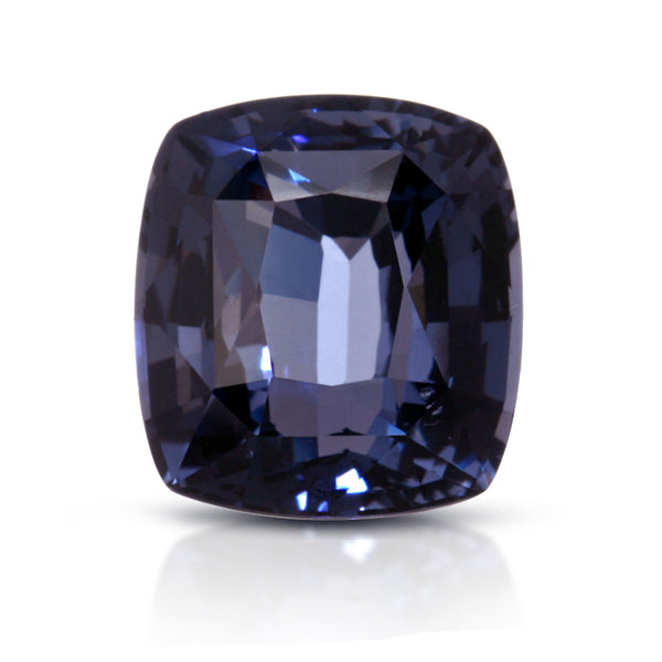 Natural Blue Spinel Cushion Shape 4.06 Carats