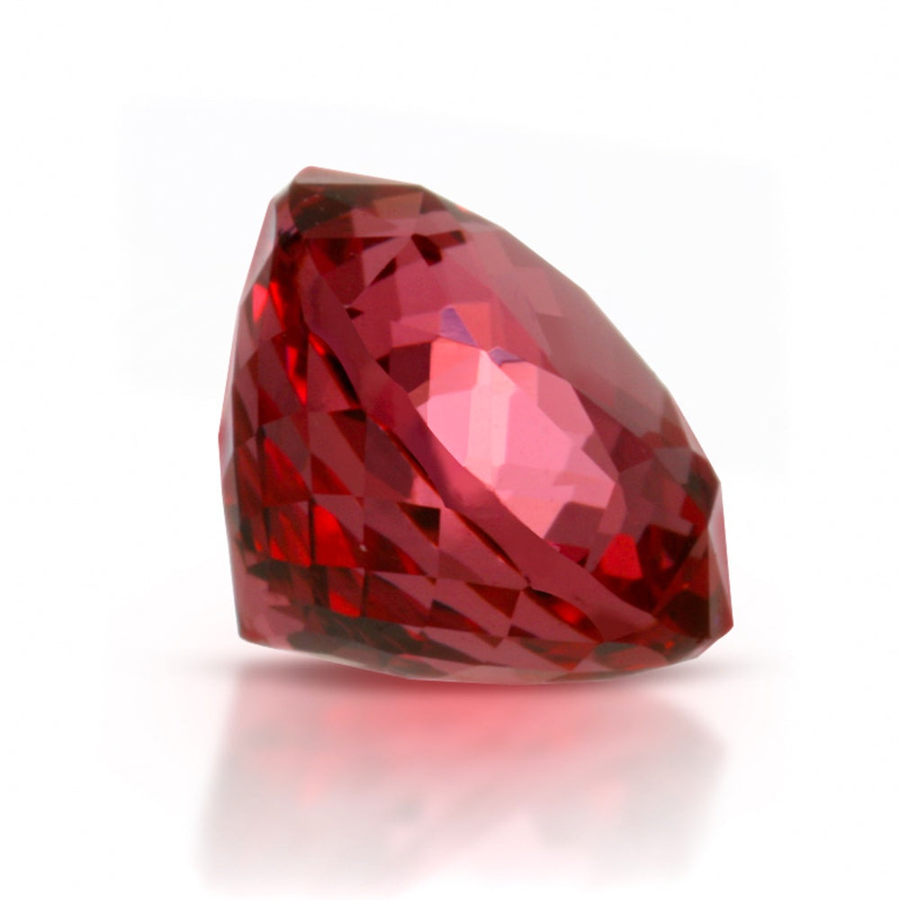 Natural Mahenge Red Spinel Neon Red Color Round Shape 1.33 Carats