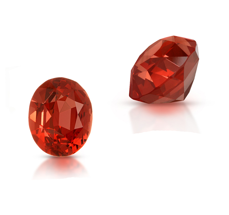 Load image into Gallery viewer, Natural Orange Spinel Oval Shape 2.63 Carats